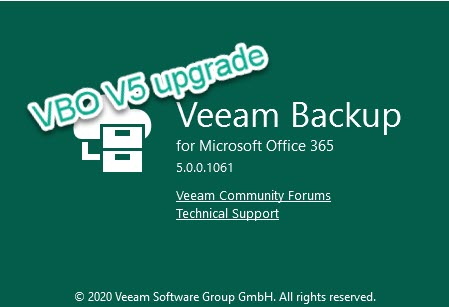 VBO V5 Upgrade